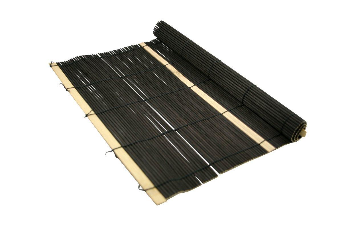 set de table en bambou noir 30x40cm. Black Bedroom Furniture Sets. Home Design Ideas