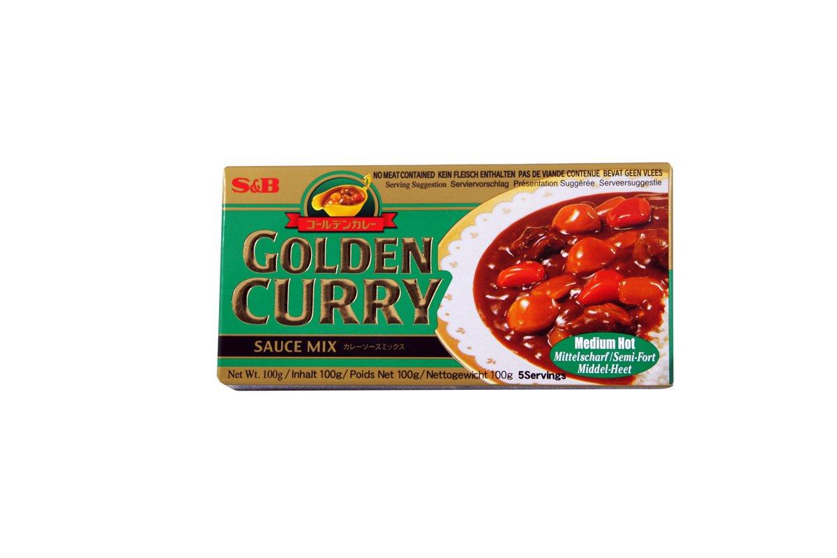 Golden curry moyen 100gr la boutique du japon - La boutique du japon ...