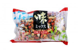 Crackers au poisson - 6 sachets 150gr