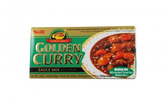 Golden curry moyen 240gr